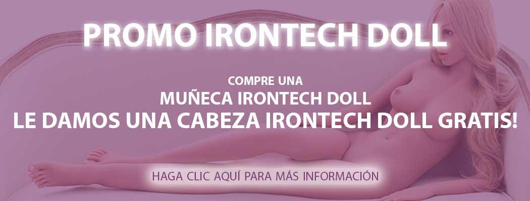 Promo Irontech Doll Cabeza Gratis